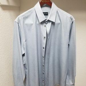 Gorgio Armani Italian made dress shirt. Size 16.5